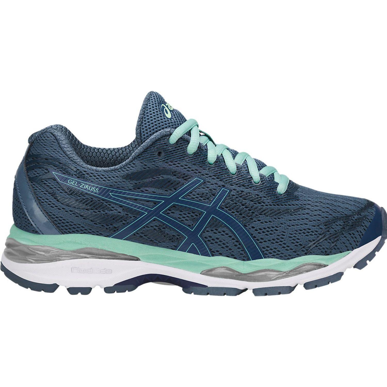 Asics gel ziruss sk blue sk blue grn Azul / verde Running en pista