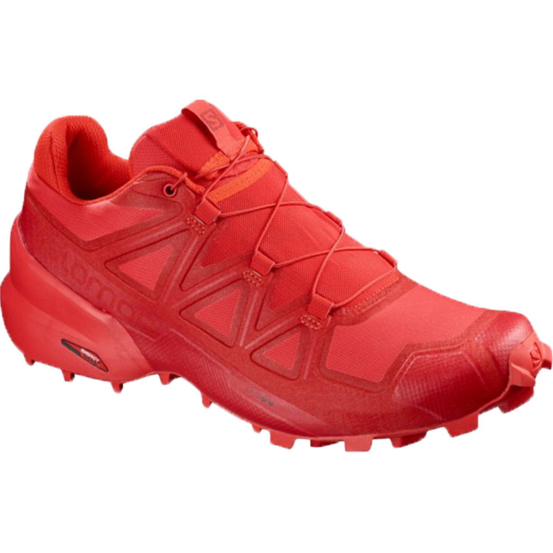Salomon Speedcross 5 Rojo Calzado de correr