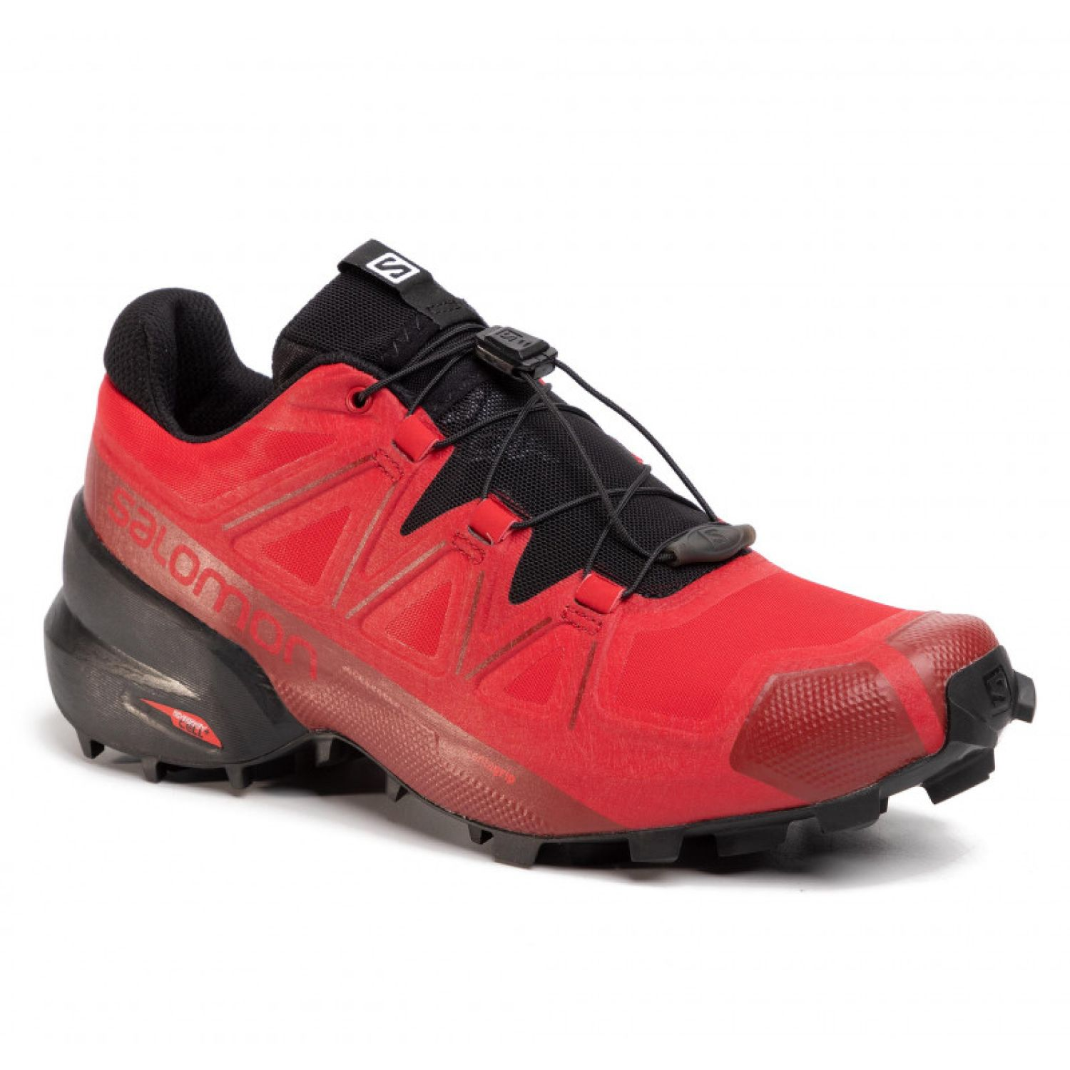 Salomon speedcross 5 Rojo / negro Trail Running