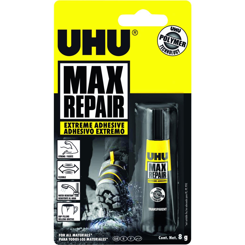 Uhu UHU Max x 8g Transparente Pistolas de pegamento