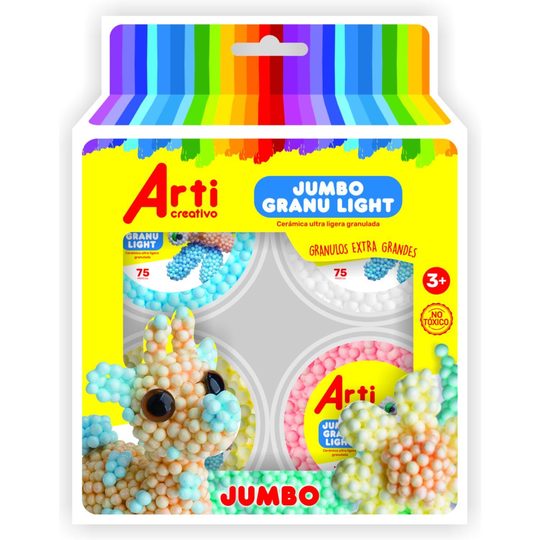 Arti Creativo Cerámica Granu Light Jumbo Arti Creativo Varios Arcilla y plastilina