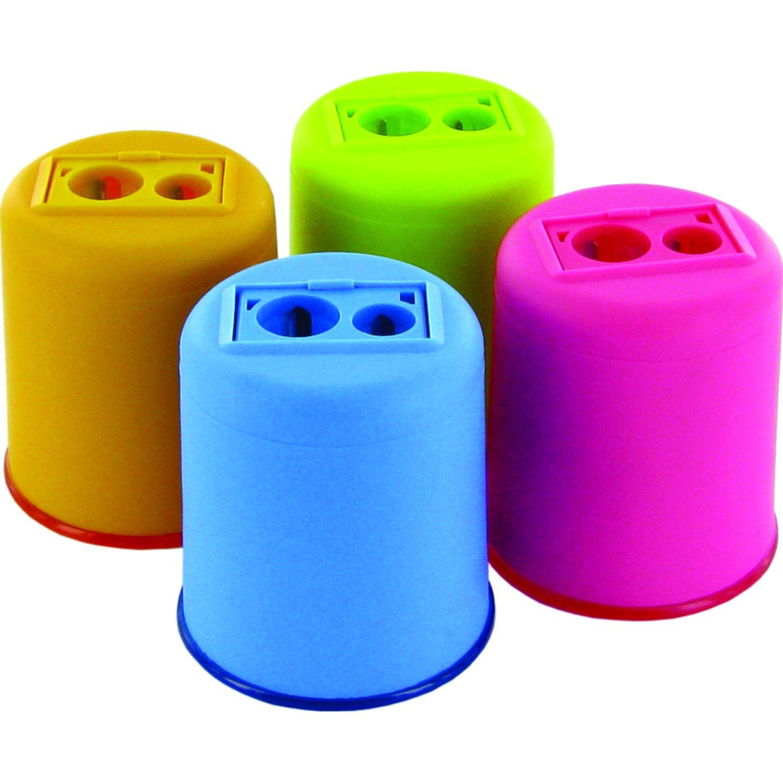 Kum Tajador Kum Dobel De Plástico Con Depósito Pop Varios Tajadores