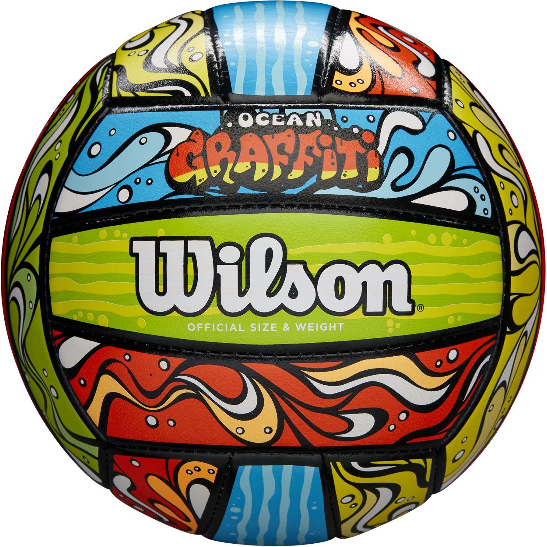 Wilson ocean graffiti Varios pelotas de voleibol al aire libre