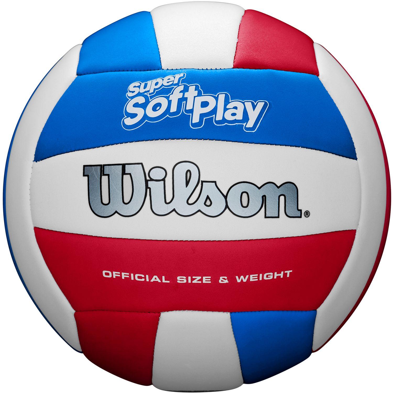 Wilson super soft play 19 Azul / blanco pelotas de voleibol al aire libre