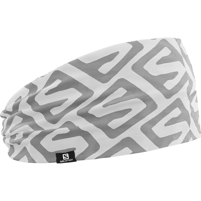 Salomon headband iso Blanco / gris Vinchas