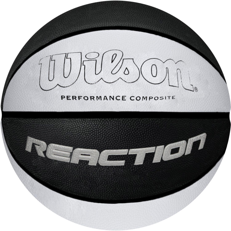 Wilson reaction Blanco / negro pelotas de baloncesto