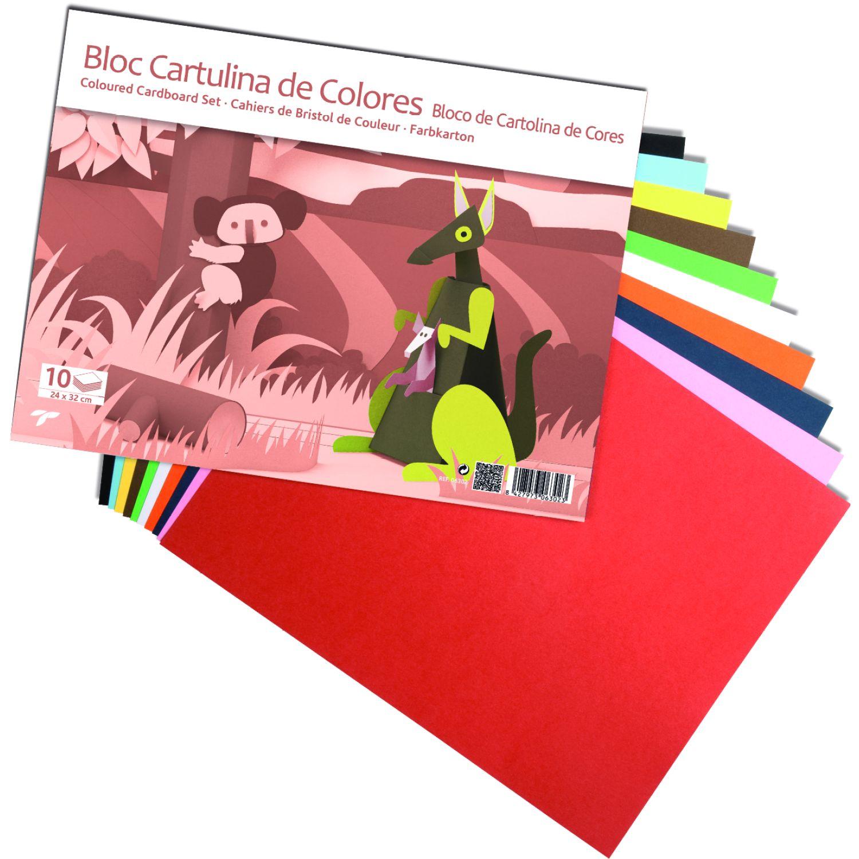 Sadipal Block De Cartulina De Colores X 10 Und Varios Blocs de notas