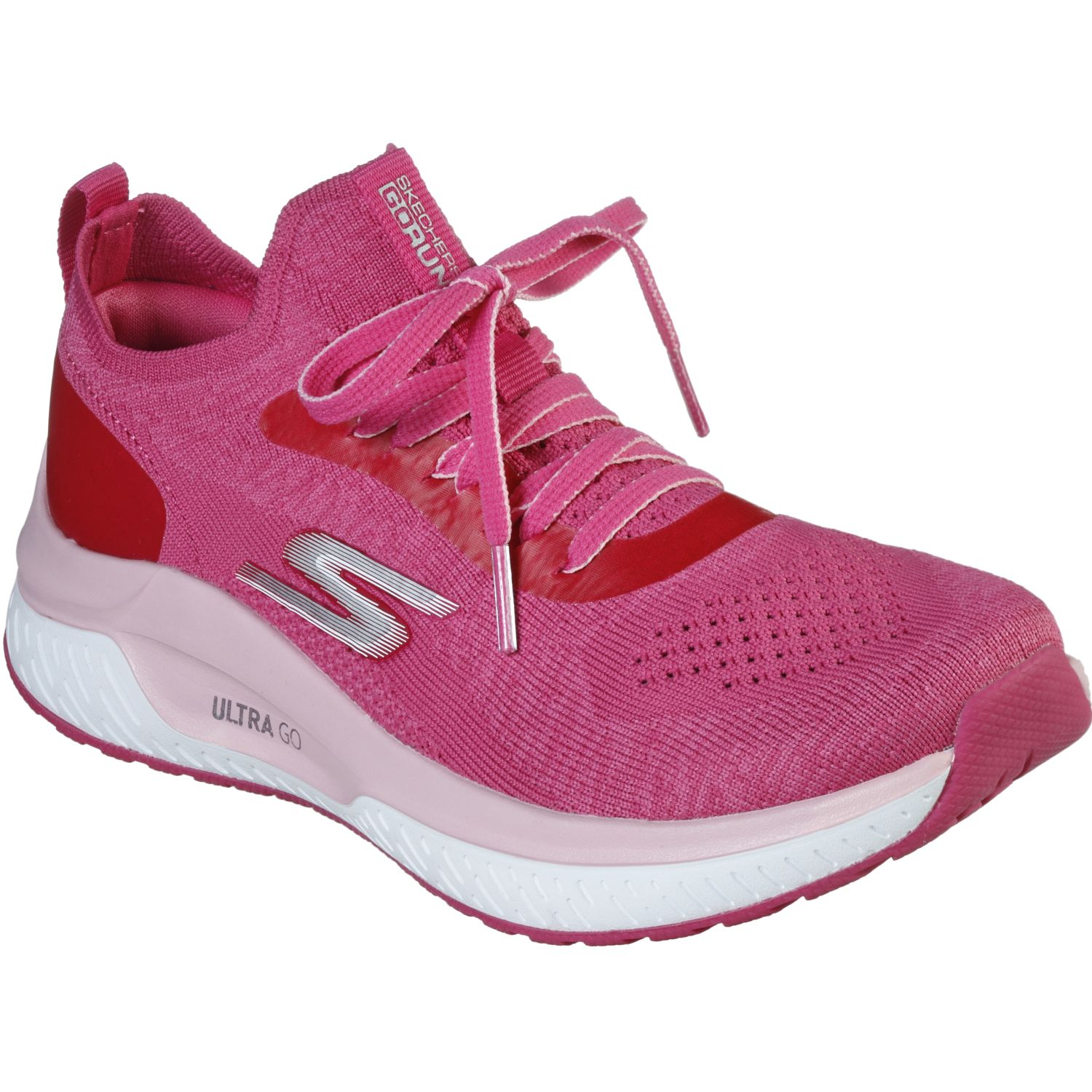 Skechers steady Rosado Running en pista