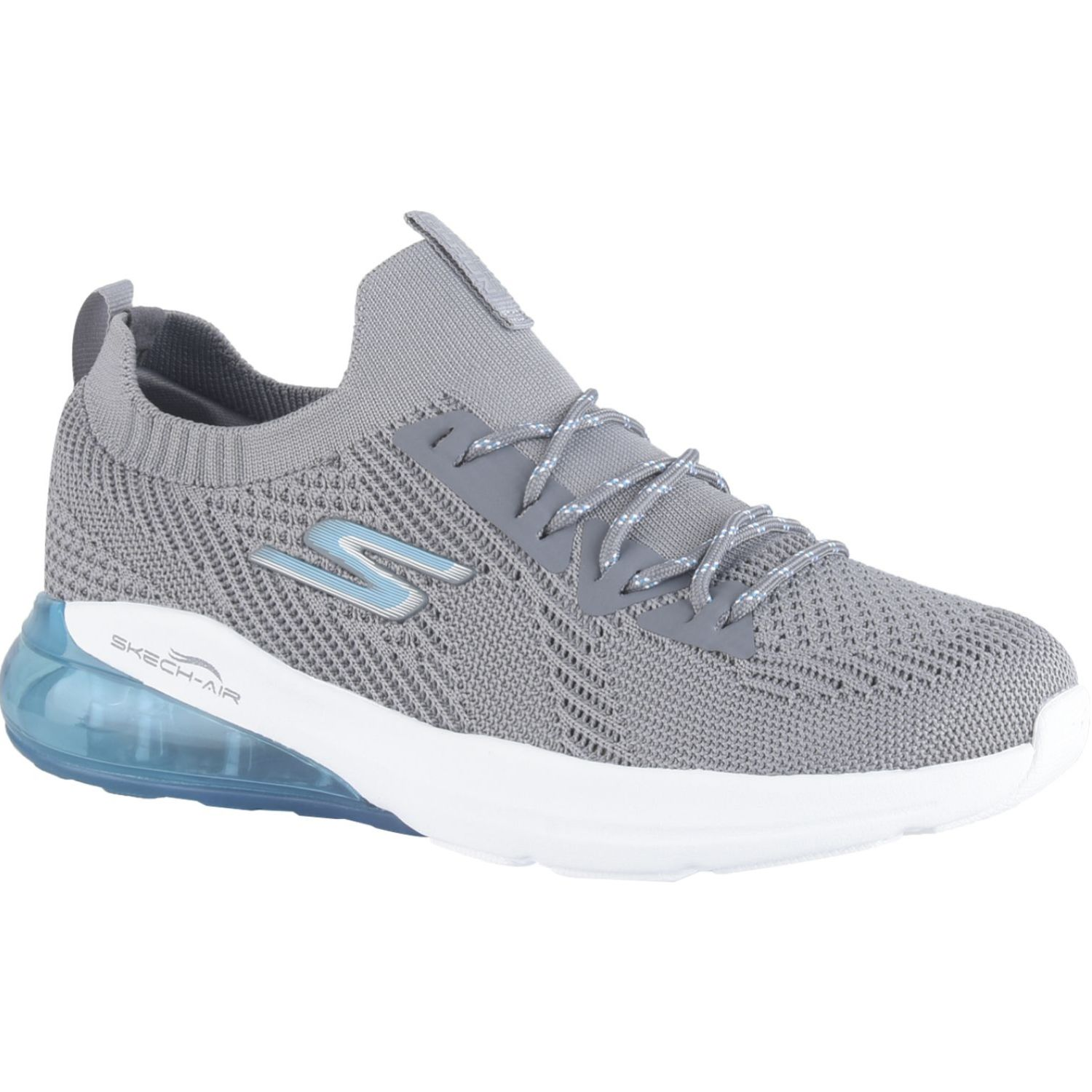 Skechers Go Run Air Gris Correr por carretera