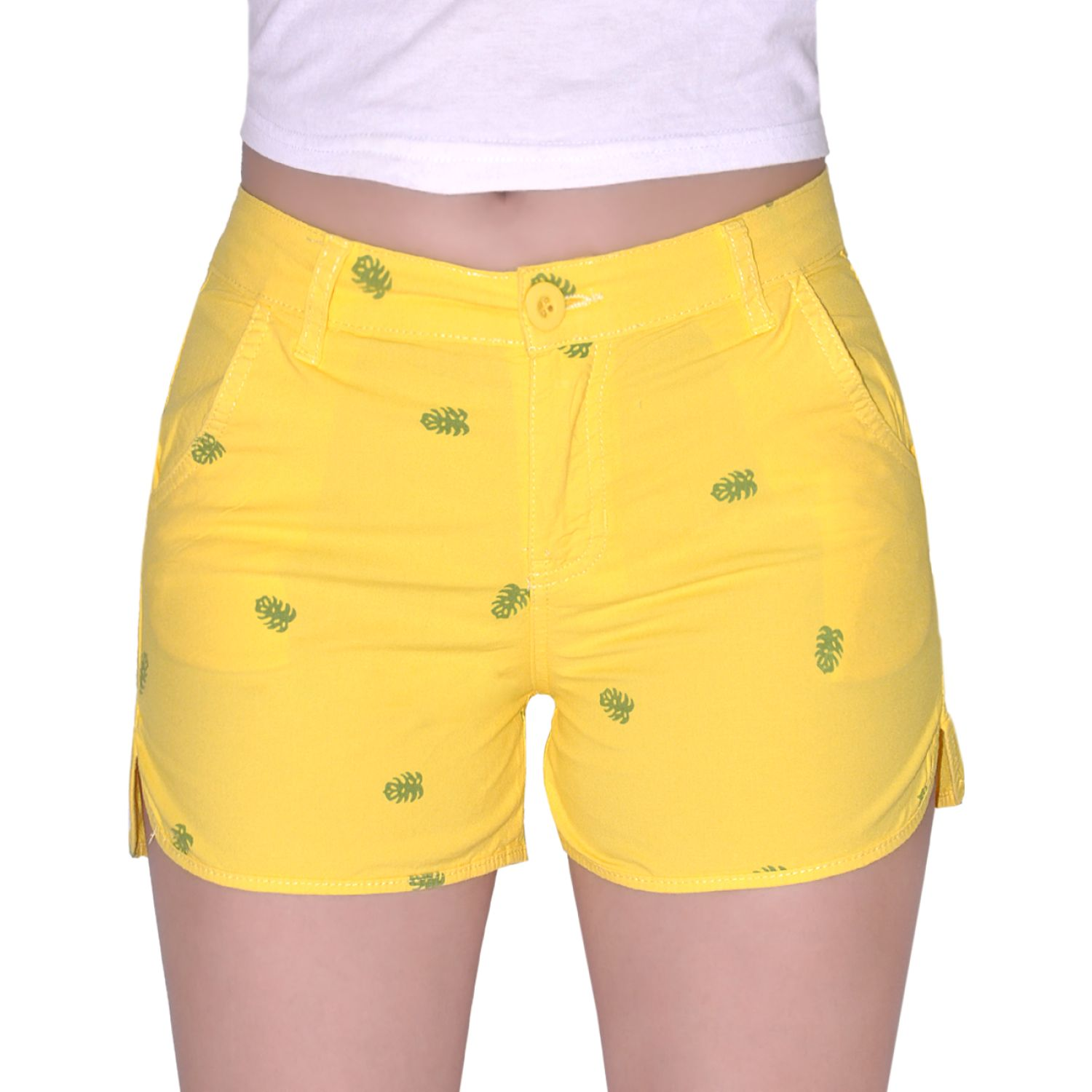 COTTONS JEANS Lauren Amarillo Shorts