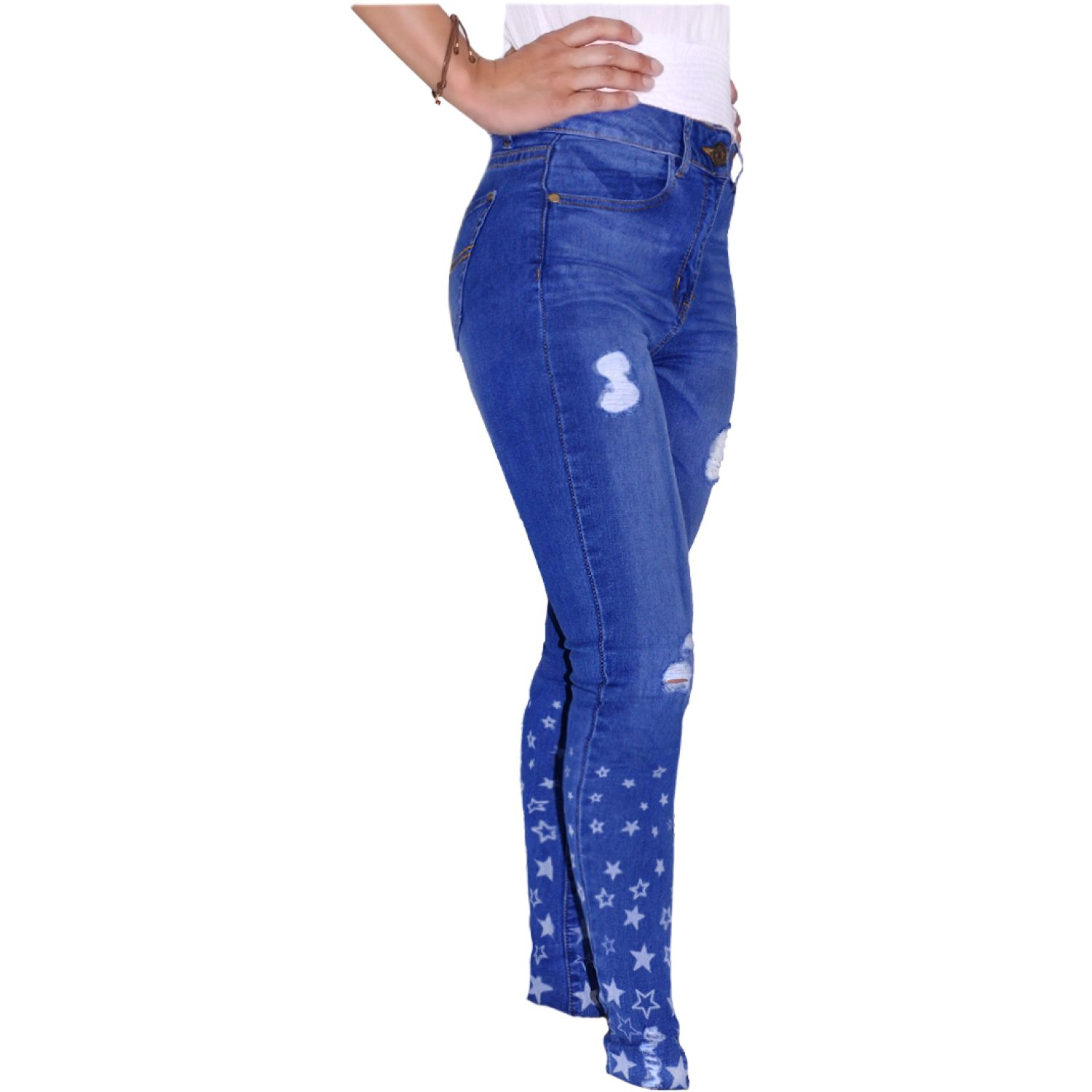 COTTONS JEANS Jane Azul Casual