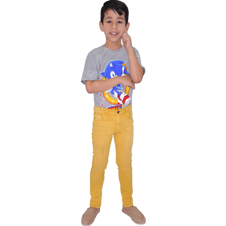 COTTONS JEANS Adriel Amarillo Pantalones