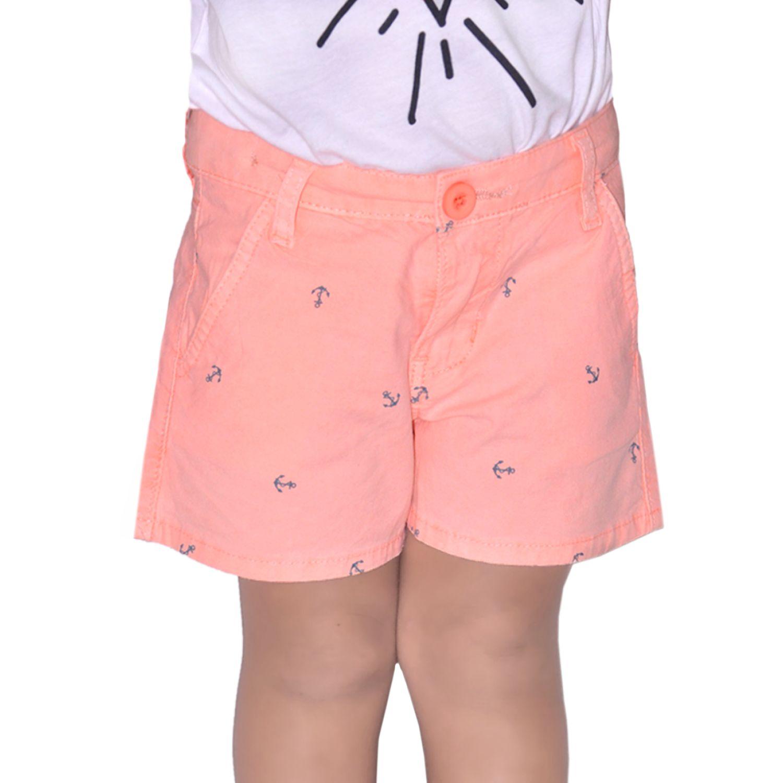 COTTONS JEANS Lucecita Naranja Shorts