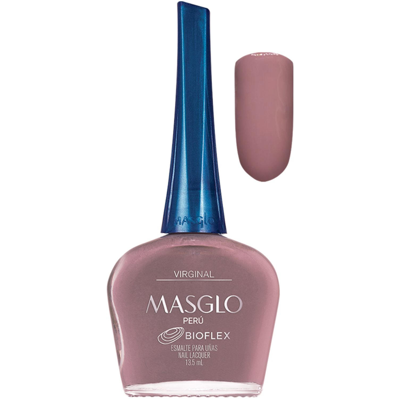 MASGLO Esmalte Virginal 13,5 Ml  Masglo Violeta Esmalte