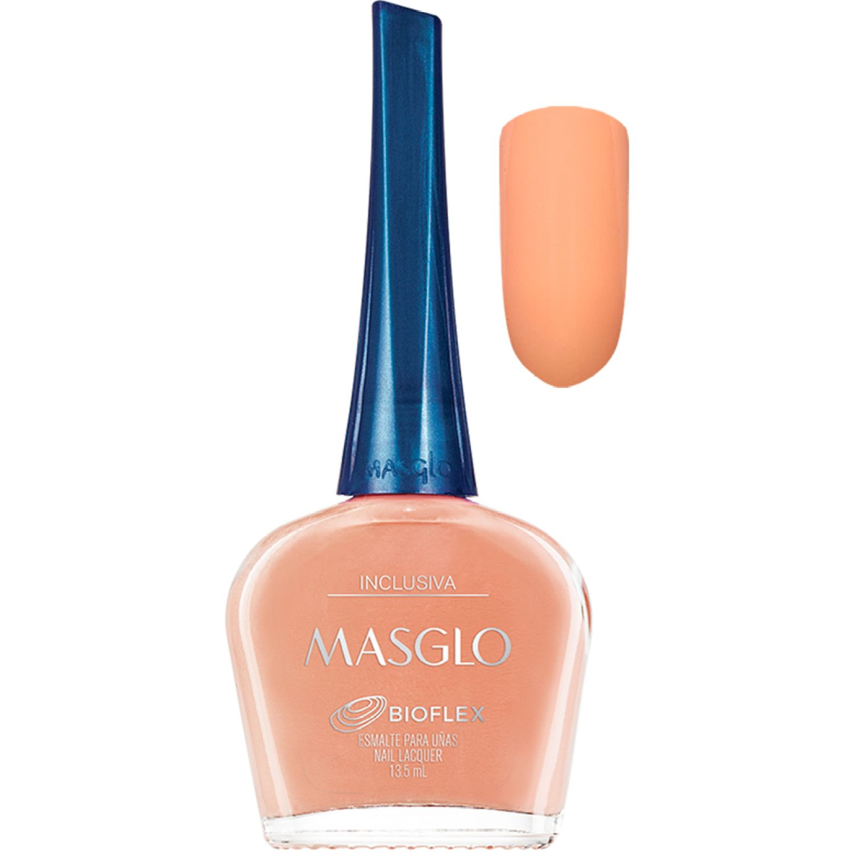 MASGLO Esmalte Inclusiva 13,5 Ml   Masglo Naranja Esmalte