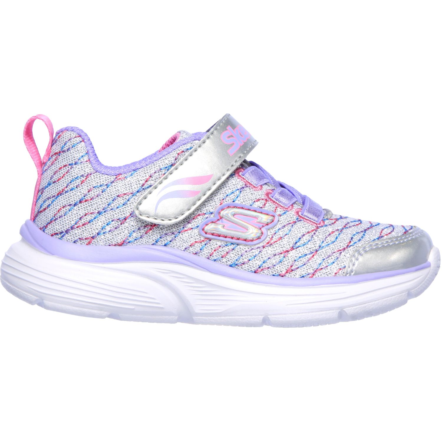 Skechers Wavy Lites Gris Walking