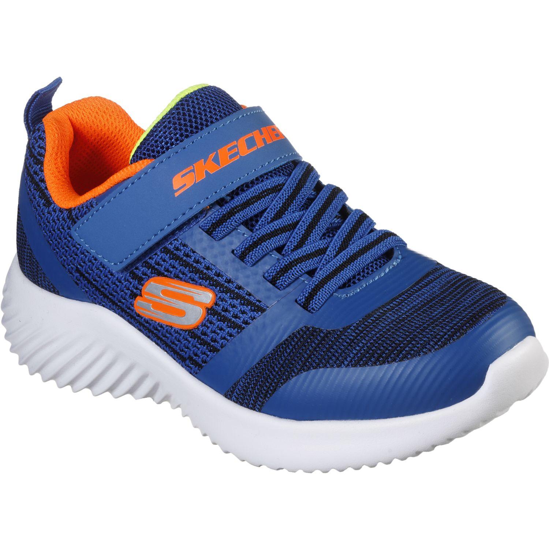 Skechers BOUNDER Azul / negro Walking