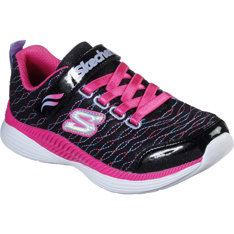 Skechers Move 'N Groove Negro / rosado Para caminar