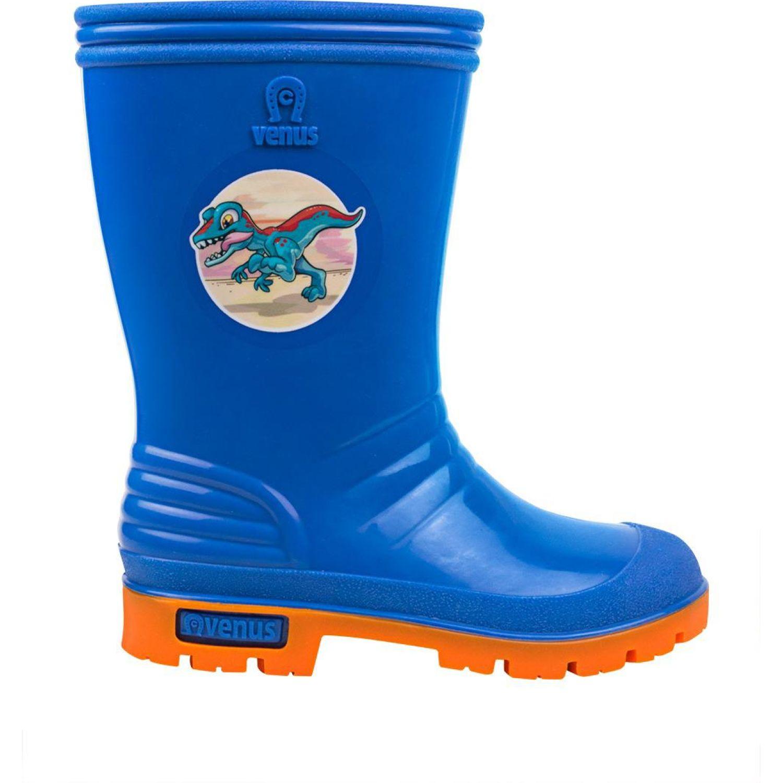 VENUS Stk Raptor Az An Azul / naranja Botas para lluvia
