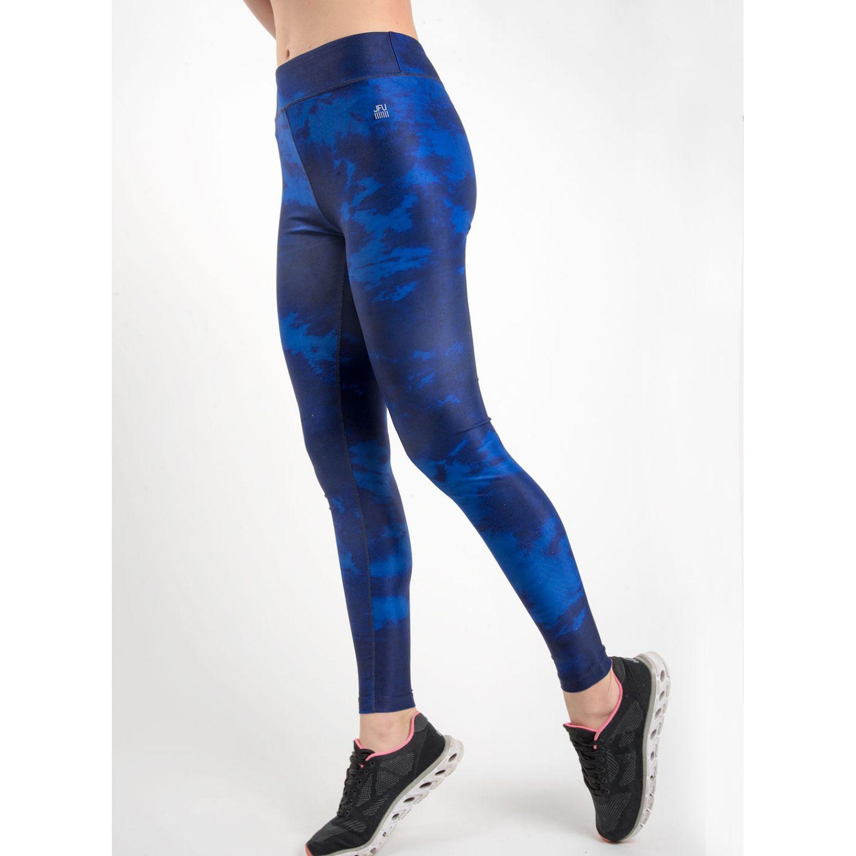 SISI Malla Deportiva Tye Dye Azul Leggings