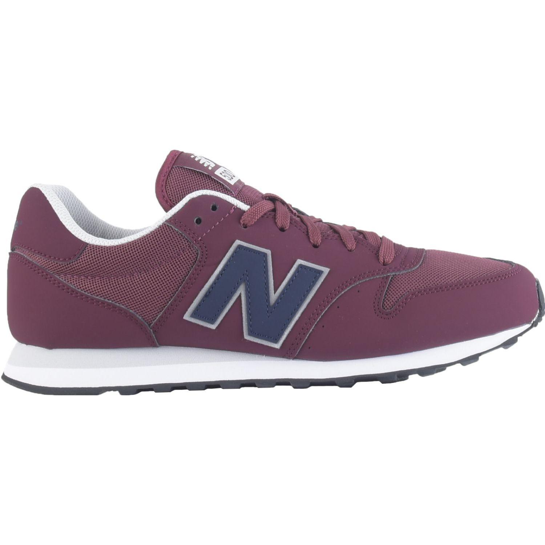 New Balance 500 Guinda Para caminar