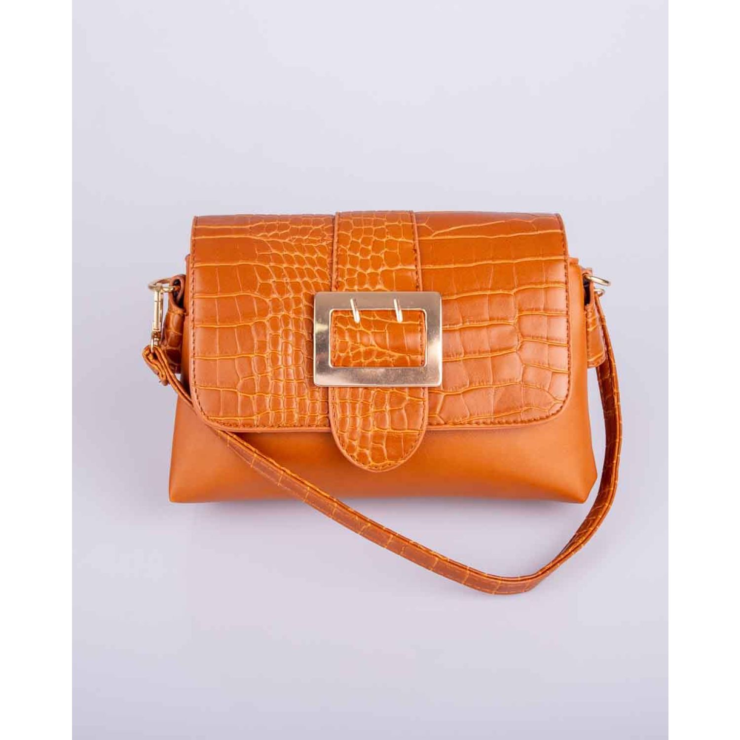 BE SIFRAH Cartera Monica Camel Carteras con Asa