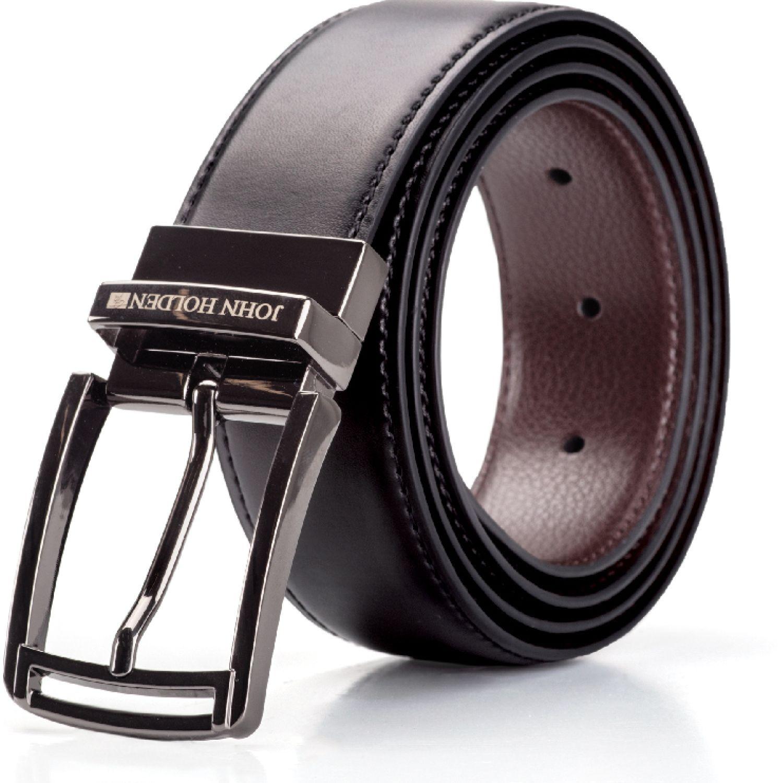 JOHN HOLDEN Correa Reversible Ergus Negro / marrón Correas y Cinturones