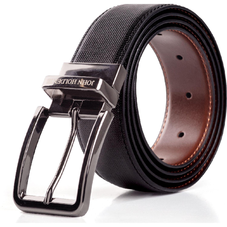 JOHN HOLDEN Correa Reversible Kensul Negro / marrón Correas y cinturones