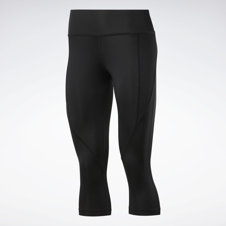 Reebok Wor Pp Capri Negro Pantalones deportivos