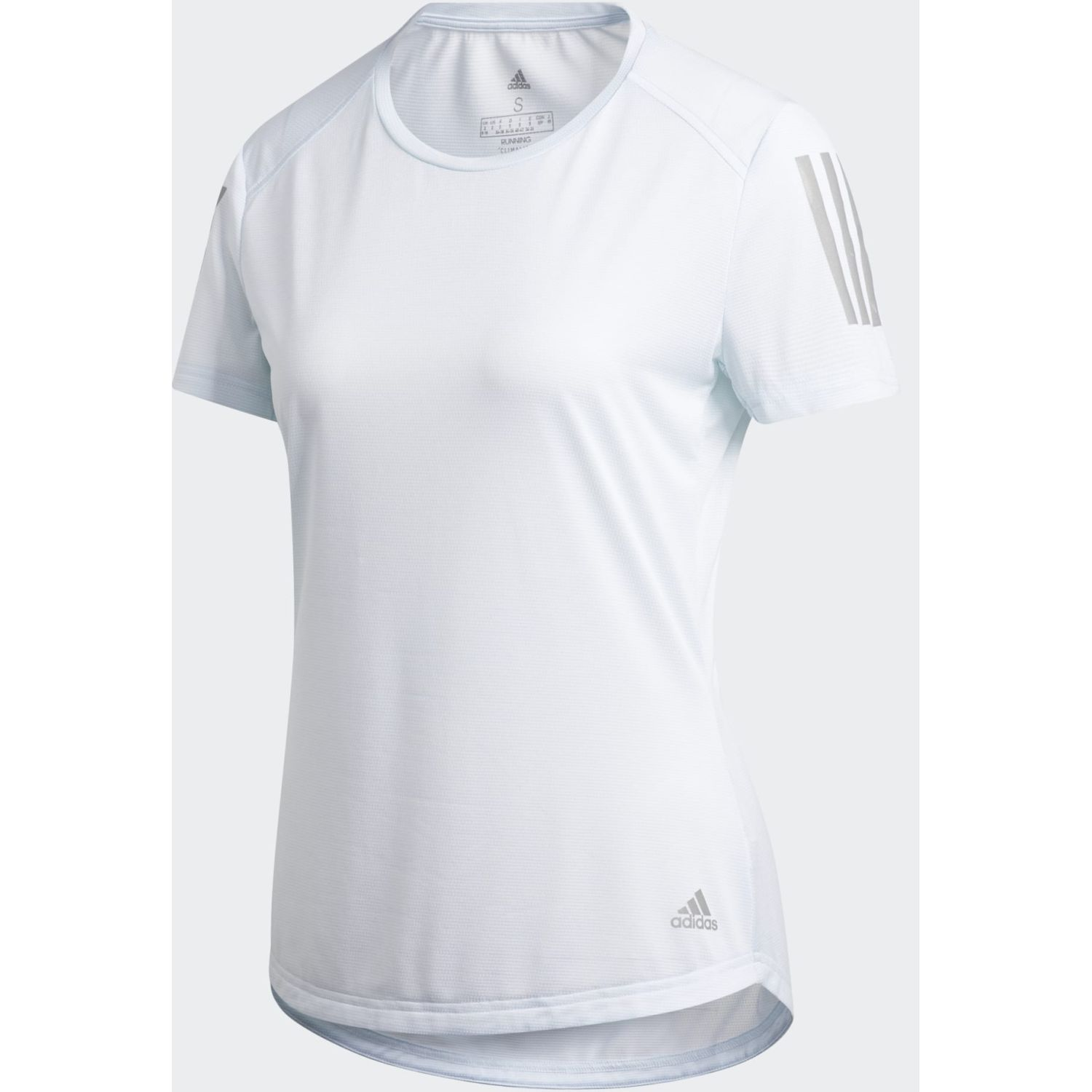 Adidas OWN THE RUN TEE Celeste Polos