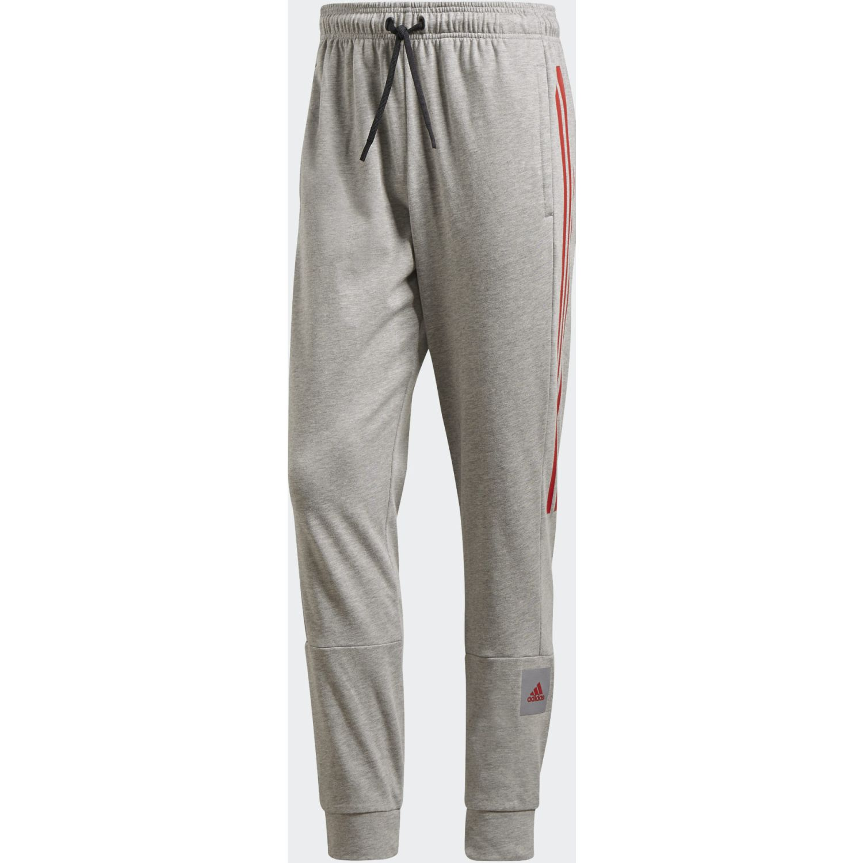 Adidas M Mh Bos Tp Sj Gris Pantalones deportivos