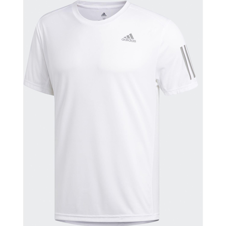 Adidas Own The Run Tee Blanco Camisetas y Polos Deportivos
