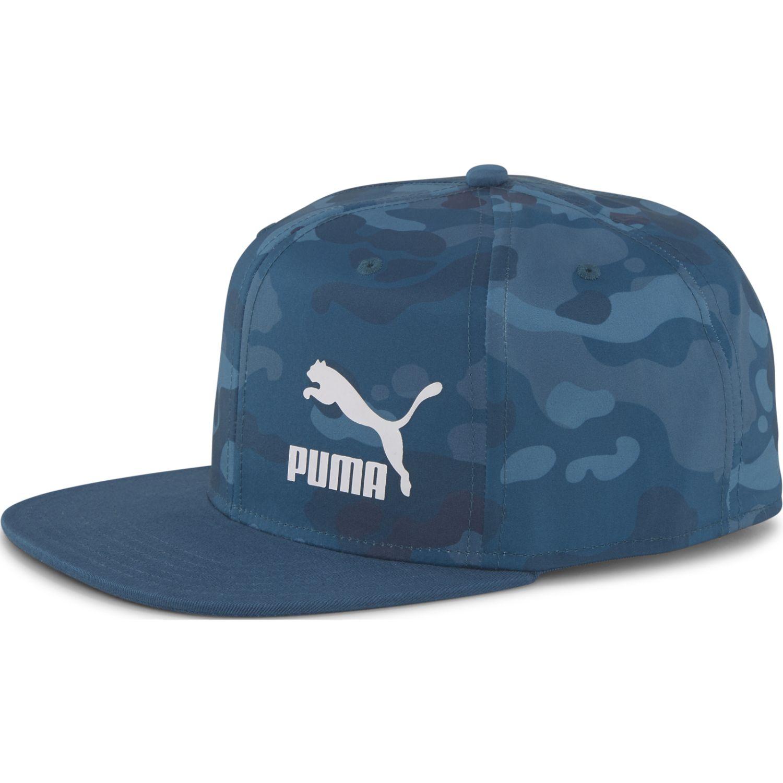 Puma Ls Colourblock Cap Azul Gorros de Baseball