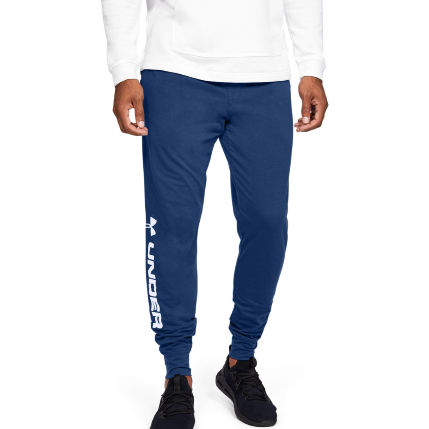 Under Armour Sportstyle Cotton Graphic Jogger Azul Pantalones deportivos