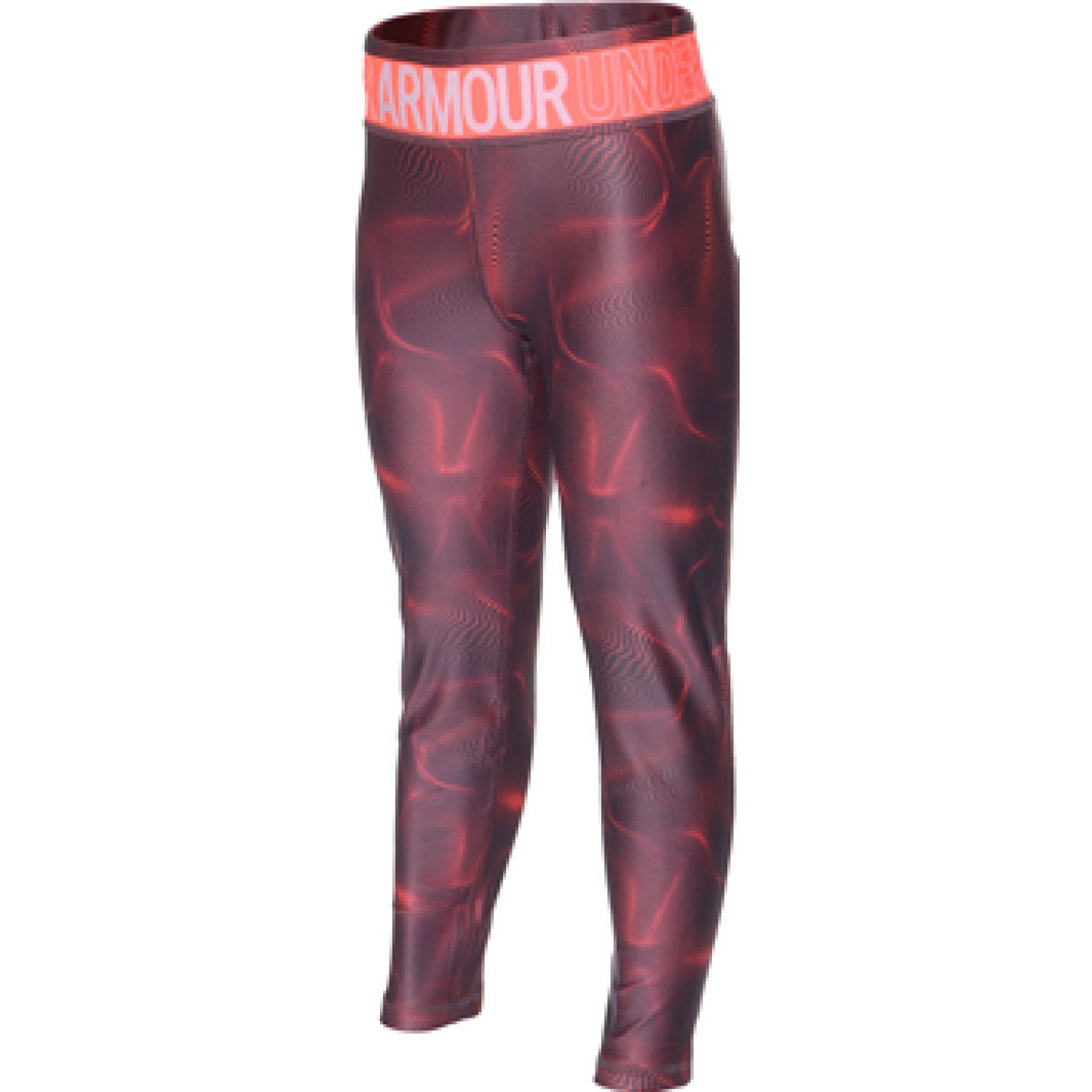 Under Armour Armour HG Printed Ankle Crop Fucsia Leggings