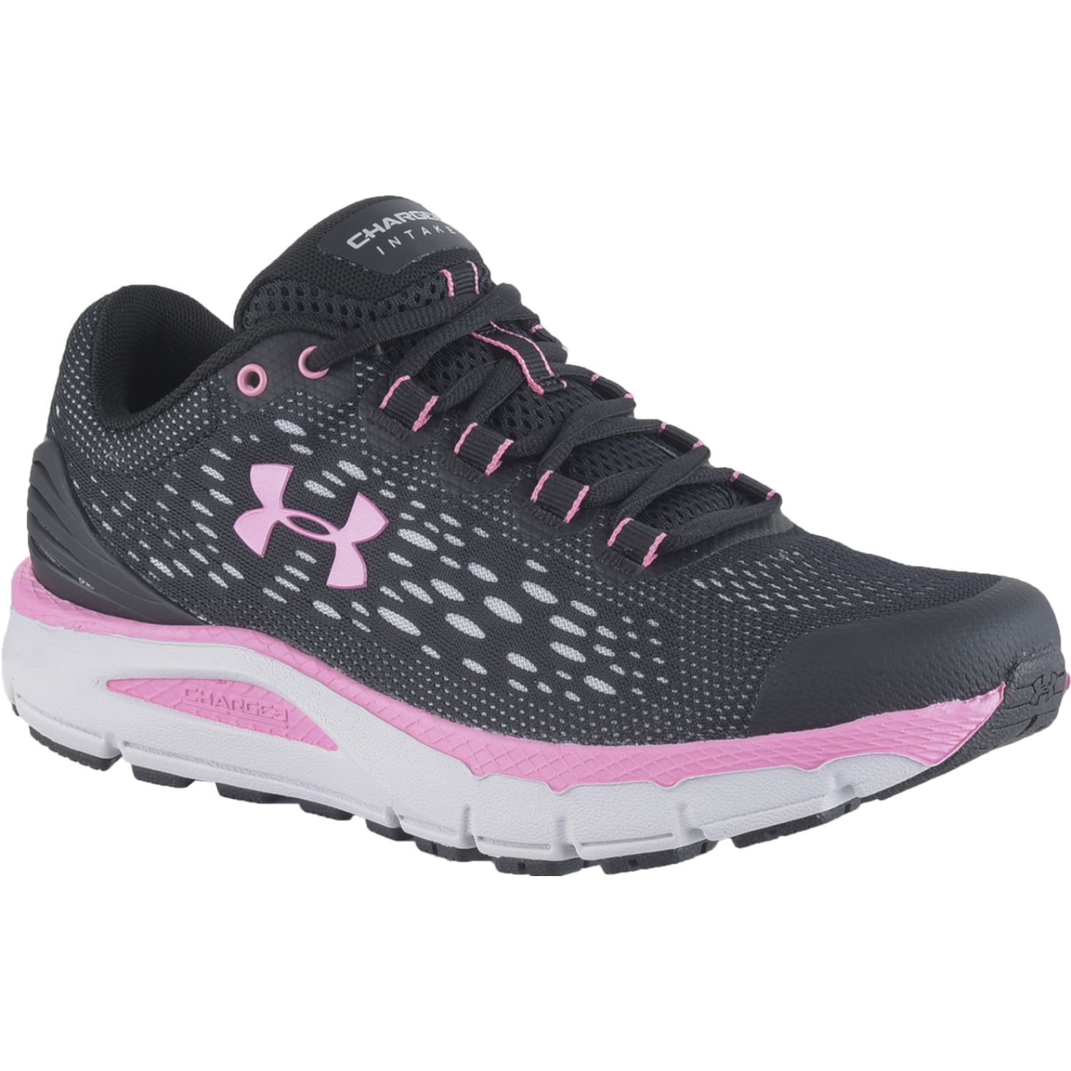 Under Armour Ua W Charged Intake 4 Negro Trail Running