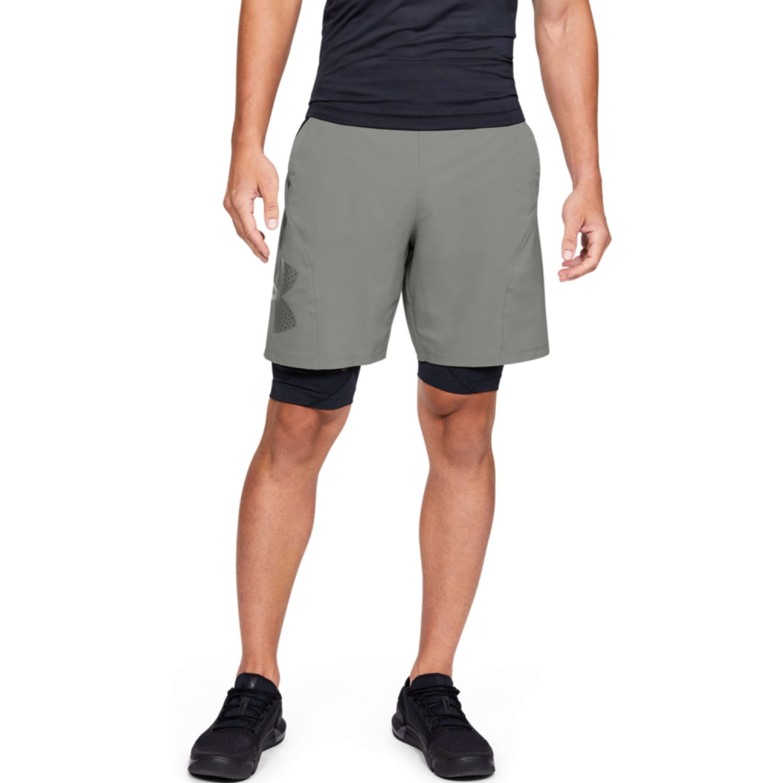 Under Armour Vanish Woven Graphic Shorts Plomo Shorts Deportivos