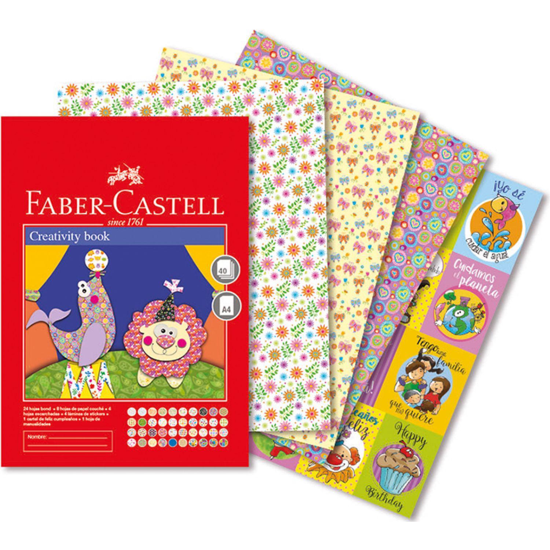 FABER CASTELL Creativity Book A4 40 Hojas Varios Cuadernos de dibujo y notebooks