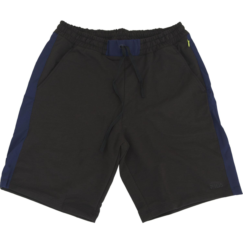 Fila Bermuda Masc. Fila Slacken Negro Shorts deportivos