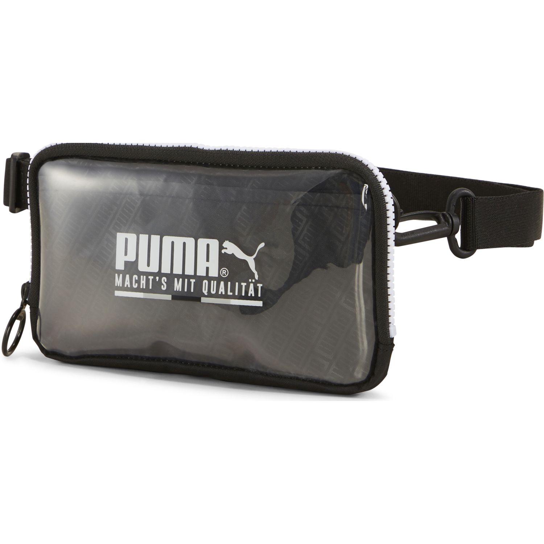 Puma Prime Street Sling Pouch Negro Bolsas con cordón para fans de deportes