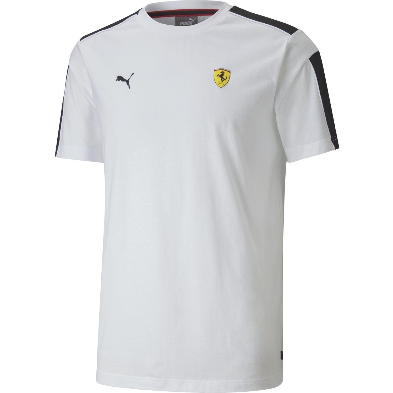 Puma Ferrari Race T7 Tee Blanco Camisetas y Polos Deportivos