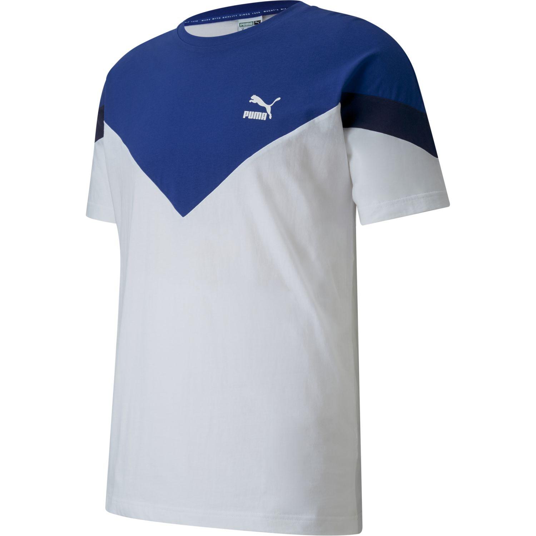 Puma Iconic  Mcs Tee Blanco Camisetas y polos deportivos