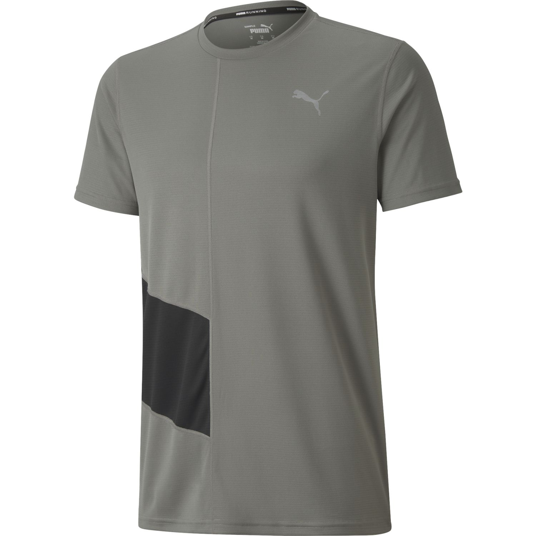 Puma Ignite Ss Tee Gris Camisetas y polos deportivos