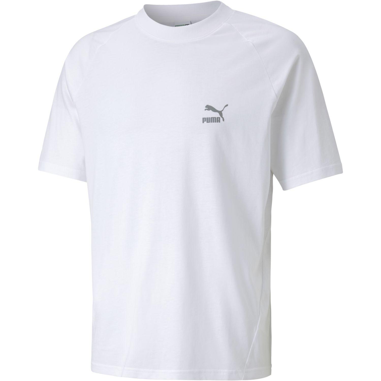 Puma Classics Tech Tee Blanco Camisetas y polos deportivos
