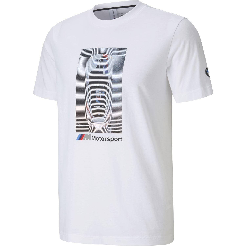 Puma Bmw Mms Graphic Tee Blanco Camisetas y polos deportivos