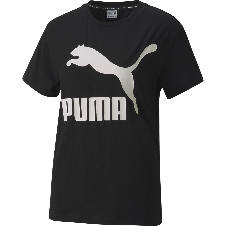 Puma Classics  Logo Tee Negro Polos