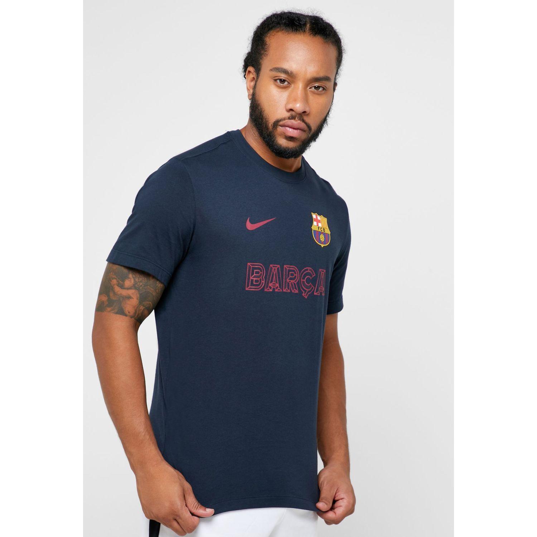 Nike Ar0275-475fcb M Nk Tee, Azmed Azul Camisetas y polos deportivos
