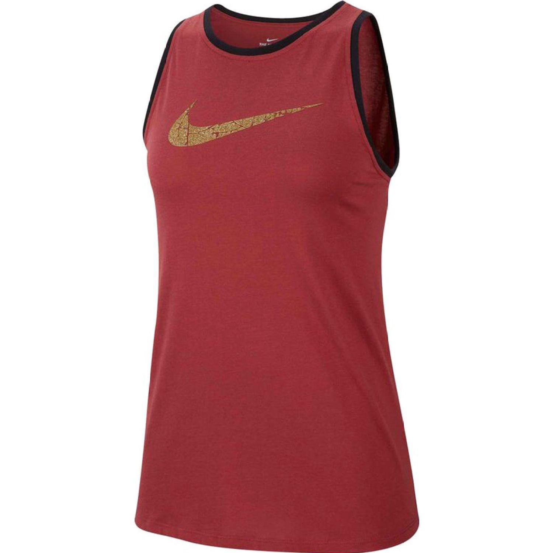 Nike Bividi Nk Ci7456-661 Rojo Camiseta sin mangas