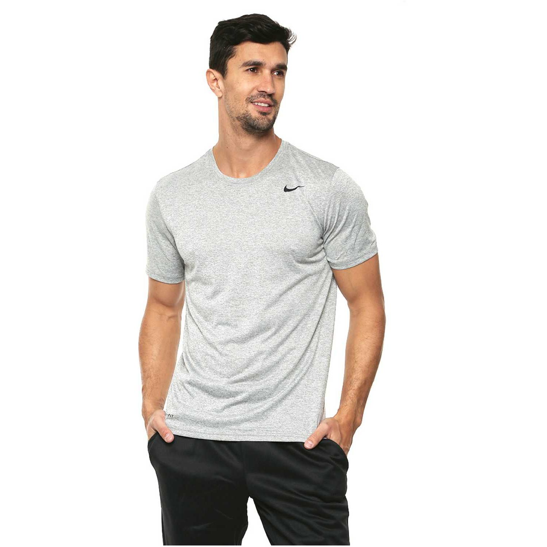 Nike Polo Nk 718833-063 Gris