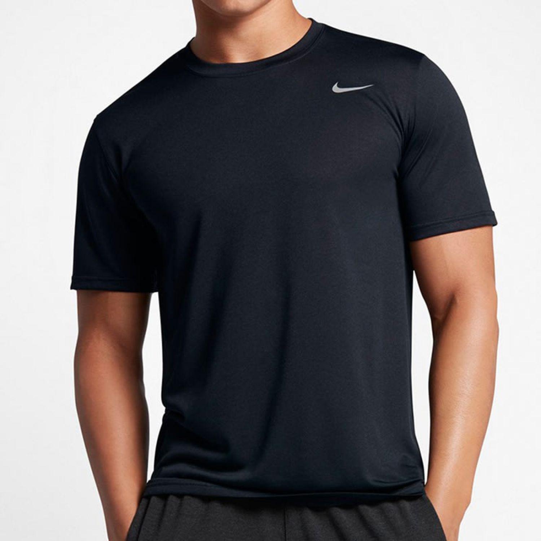 Nike Polo Nk 718833-010 Negro